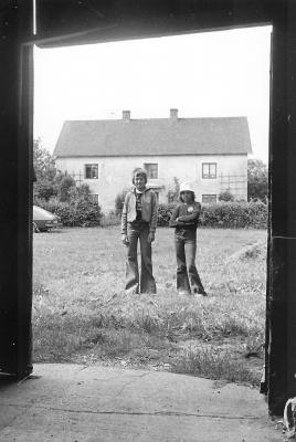 1975. Magdalena och Fredrik.