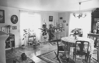 Vardagsstugan (TV-rummet) 1947.