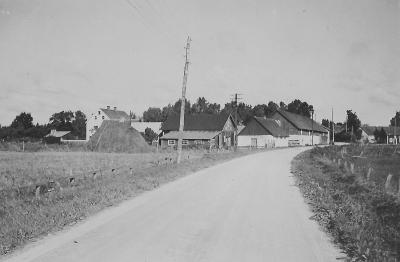 Husarve från vägen 1947.