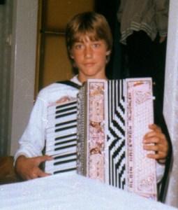 Anders Larsson, 13 år