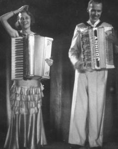Louise Nelson, Olle Johnny, Leningrad 1935