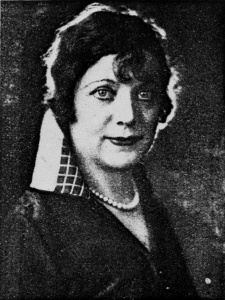 Mrs Frosini, Alfride Larsen, 1939
