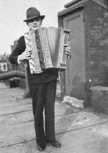 Manfred Max with Frosini´s accordion