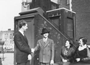 Mr.+Mrs. P.  Frosini, Mr.+Mrs. I. Peterson, 1935