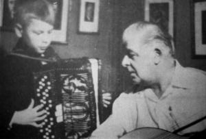 Nils Fläcke och Evert Taube