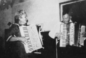 Signe Gustafsson och Andrew Russel