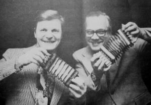 Veikko Ahvenainen och Walter Eriksson