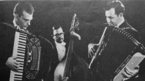 Bill Hughes, Len Manno, Bill Palmer
