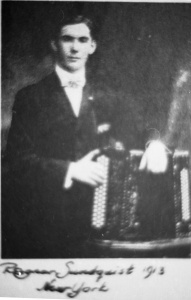 Ragnar Sundquist, 1913, New York