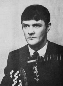 Martin Höglund, Svensk seniormästare 1971